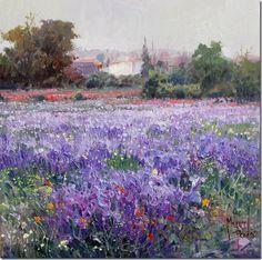 paisajes Pinturas al óleo de Miguel Peidro 2
