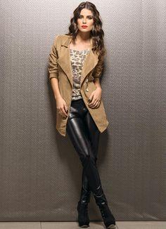 LindonaRem- Comunidade da Moda : Look do Dia Com o friozinho que ta fazendo aqui hj, esse look vai bem hj