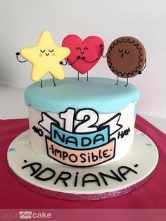 Your Cake. Cute Cakes, Pretty Cakes, Beautiful Cakes, Amazing Cakes, Fondant Cakes, Cupcake Cakes, Funny Cake, Mr Wonderful, Good Foods For Diabetics