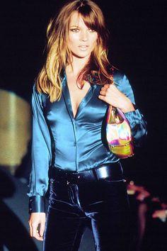 Kate Moss at Gucci Fall/Winter 1995