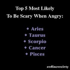 quotes on zodiac signs : aries and their worse matches - Google Search