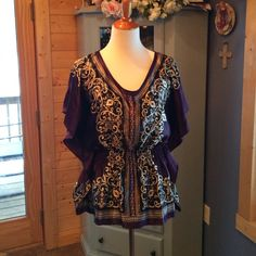 """Spotted while shopping on Poshmark: """"Heart & Soul Stunning Blouse. Brand NEW!""""! #poshmark #fashion #shopping #style #Heart & Soul  #Tops"""