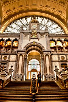 Antwerp Station - Antwerp, Belgium | Incredible Pictures