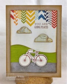 December SOTM You are Going Places card by Shannon White #Cardmaking, #Stampofthemonth, #Encouragement, http://tayloredexpressions.com/kits.html