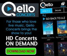 Qello Concerts (Android, iPhone, iPad, iPod): Watch full-length concerts anytime on your Android device with Qello! Available in more than 160 countries and on nearly every digital device.  http://t.mobitrk.com/?a=t&aff_id=2634&tags=&o_id=2093.  CSR PRODUCTIONS Entertainment Group, Inc.  www.csrentertainment.com.  #csrproductions, #csrentertainment, #mobile, #streaming, #concerts, #qello, @csrproductions1
