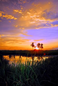 oculi-ds: Pida Megat Dewa series by rizalis. Beautiful Sunset, Beautiful Places, Beautiful Pictures, Amazing Sunsets, Amazing Nature, Aesthetic Photography Nature, Nature Photography, Ciel, Nature Photos