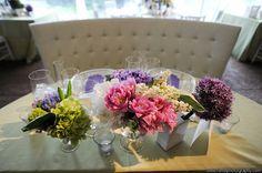 Floral details in pink, green, & purple #weddings #floraldetails #blisschicago