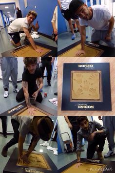 Harry needing to use 2 hands to make an imprint because he's so gentle, just imagine him holding your child oK BYE