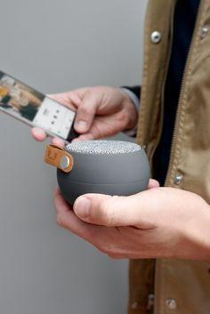 Fresh 'n Rebel | Rockbox Round Fabriq Edition | Stylish wireless Bluetooth speaker.