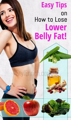 How to Lose Lower Belly Fat : Easy Tips To Achieve Flat Stomach