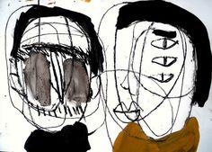 talk together by Shohei Hanazaki Canadian Artists, Outsider Art, Japanese Artists, Art World, Mixed Media Art, Contemporary Art, Art Gallery, Fine Art, Drawings