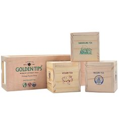 Buy Organic Tea Wooden & Jute Combo Gift Boxes from Golden Tips Tea India Online Store. Darjeeling Tea, Teas, Wooden Boxes, Crafts, Stuff To Buy, Wood Boxes, Wooden Crates, Manualidades, Tees