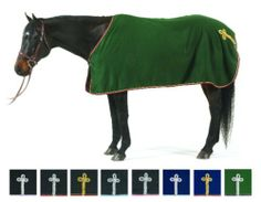 Centaur Wool Show Cooler by Centaur. $97.52. Your horse will be styled and ready to attend any horseshow in this beautiful 100% woll dress sheet. The brass buckle closure, hidden inside surcingle, and stylish hip ornament makes this a true classic.