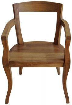 Vergil Arm Chair $792 via Dovecote Decor