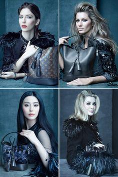 Spring Ad Campaigns: Louis Vuitton Gisele Bundchen, Catherine Deneuve, Fan Bing Bing, Sofia Coppola