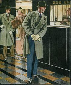 The Black Homberg [Esquire Magazine] (1930's)