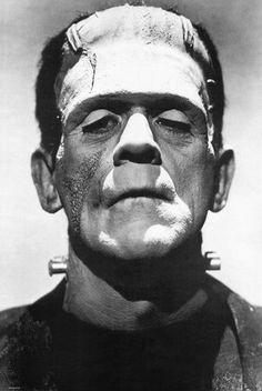Boris Karloff 'Frankenstein' Film vintage print