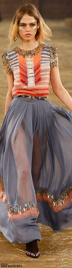 Chanel Pre-Fall 2014 Dallas . vogue.com