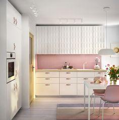 METOD/VOXTORP keuken | IKEA IKEAnl IKEAnederland fronten deuren keukensysteem veelzijdig inspiratie wooninspiratie interieur wooninterieur koken eten strak modern koken eten diner wit eetkamer