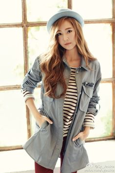 Girls' Generation's Jessica shows fresh looks for fall in 'SOUP' pictorial
