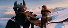 valka and toothless ~ httyd 2