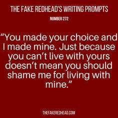 TFR's Writing Prompt 272