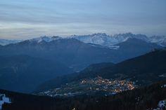#Tramonto sul #Sommo #Alto #Folgaria #Trentino #Folgariaski
