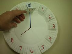 Telling Time with Peek-a-boo clocks