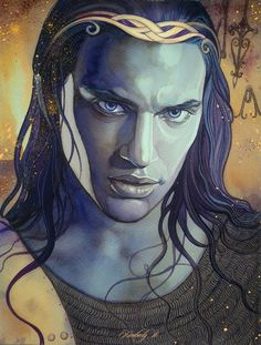 Caranthir, also known as Caranthir the Dark, was the fourth son of Fëanor and the harshest and the quickest to anger his seven brothers.   Caranthir by kimberly80.deviantart.com on @deviantART