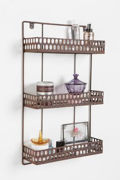 Triple Decker Shelf  #UrbanOutfitters