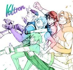 Voltron - Shiro, Keith, Lance, Hunk, Pidge