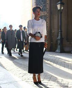 Уличная мода: Дина Абдулазиз: стиль восточной принцессы