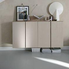 Bedroom Prints, Bedroom Decor, Stil Inspiration, Teak Sideboard, Ikea Malm, Decoration, Furniture, Cabinet, Living Room