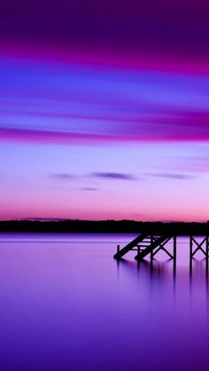 Pier at sunset #iPhone #5s #Wallpaper