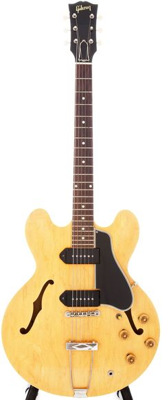 Musical Instruments:Electric Guitars, 1959 Gibson ES-330 Natural Semi-Hollow Electric Guitar, Serial #S10272.... Image #1