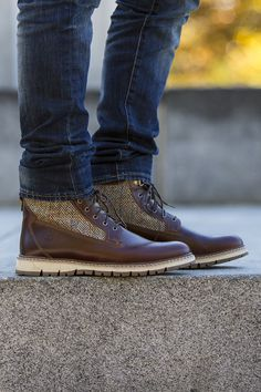 The perfect blend of style and performance, Timberland's Britton Hill boots are a fall essential.