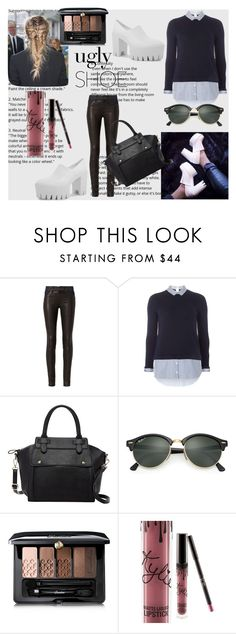 """ugly shoe"" by ruth-jaimie-hollingsworth on Polyvore featuring rag & bone, Dorothy Perkins, Pink Haley, Ray-Ban, Guerlain and Kylie Cosmetics"
