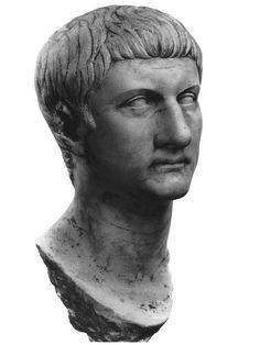 Portrait of Drusus Minor. The type C. White fine-grained marble (Carrara). 14—19 CE.  Inv. No. 30. 001. Toulouse, Saint Raymond Museum