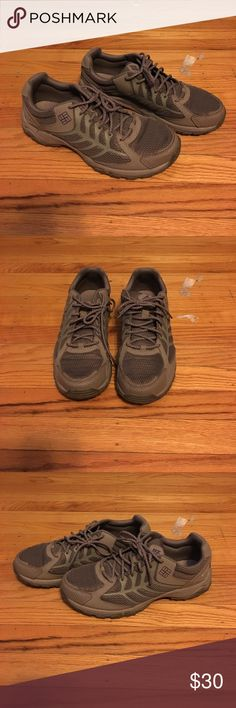Colombia Trail Shoes Worn once, Columbia Trail shoes with heavy traction bottoms Columbia Shoes Athletic Shoes