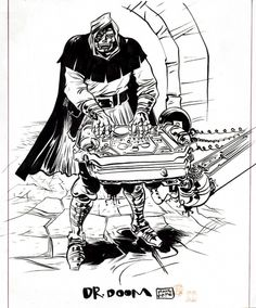 Doom kickin' out the jams! By Paul Pope