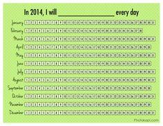 2014 Goal Printables