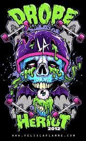 Drope La Heriot 2012 – Graffiti World Graffiti Art, Graffiti Wallpaper, Graffiti Painting, Dope Cartoon Art, Cartoon Kunst, Cartoon Cartoon, Art And Illustration, Zombie Illustration, Illustrations