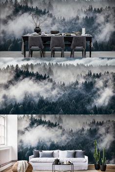 Shinrin-Yoku ist ein japanischer Begriff für die Aufnahme der Natur mit allen Sinnen. Der atemberaubende Ausblick dieser nebelverhangenen Waldtapete wirkt in zweierlei Weise: als augenblicklicher Stressabbau und als tägliche Erinnerung daran, dem nächstgelegenen natürlichen Grünbereich zur Beruhigung einen Besuch abzustatten.  €39,- / m2 inklusive Gratis Lieferung und Tapetenkleister Shinrin Yoku, Japan, My Design, Living Room, Cool Stuff, Home Decor, Daily Reminder, Forest Wallpaper, Stress Relief