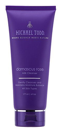 Michael Todd  Damascus Rose Milk Cleanser Gently Cleanses and Maintains Moisture Balance for All Skin Types 6 Ounces * This is an Amazon Affiliate link. Continue to the product at the image link.