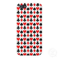 Playing Card Suits iPhone Case iPhone 5 Case