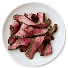 Grilled Balsamic-and-Garlic Flank Steak Recipe  - Melissa Rubel Jacobson | Food & Wine