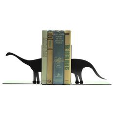 Brontosaurus Metal Art Bookends - Free USA Shipping by KnobCreekMetalArts on Etsy https://www.etsy.com/listing/91270909/brontosaurus-metal-art-bookends-free-usa