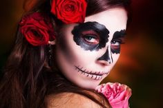 Dia de los muertos make up idea
