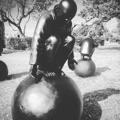 Totally zen #balance #equilibrium #zen #blackandwhite #sculpture #sculpturesbythesea #art #ball #oriental #artiseasy #artandabout #sydney #bondi #bondibeach #bonditobronte #instaart #instalife #livingthedream #publicart #sydney #urbanart #wanderlust by lisasalky http://ift.tt/1KBxVYg