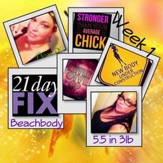 I'm feeling amazing.  I've lost 3 lbs &  5.5 inches in a week. 21 day fix Challange with Beachbody is amazing.  It's been tuff workouts for the week. Back to week 1 workout was much easier than last week. Whoop whoop.  Eating 5 times a day & drinking my shakeology.   I'm loving the results & can help you if anyone is interested I'm here to motivate an inspire you.  Just take the first step and decide to just go for it. Let me know I can set you up